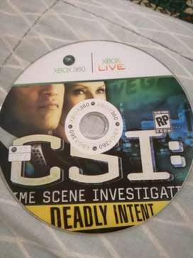 Juego original Xbox 360 CSI