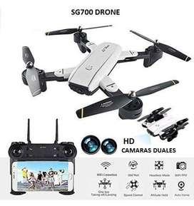 Drone Sg700 Camara Dual Hd Wifi Tiempo Real Sensores Fpv estable selfie