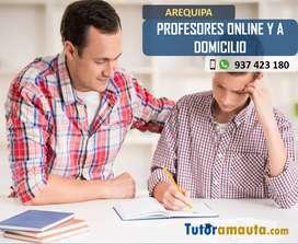 PROFESOR DE MATEMÁTICA ONLINE Y A DOMICILIO, AREQUIPA