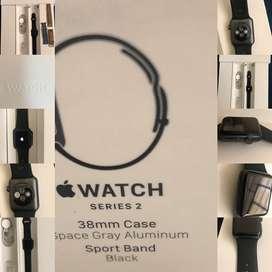 Flamante Apple Watch series 2 de 38mm único dueño + correas adicionales
