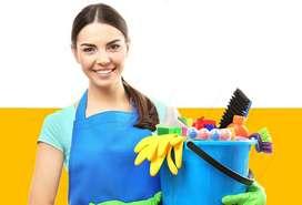 Personal femenino para limpieza