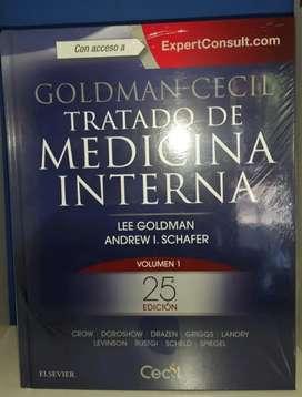 Tratado de Medicina Interna Goldman Cecil 25va Edicion
