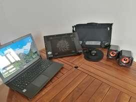 Computador portátil y asesorios