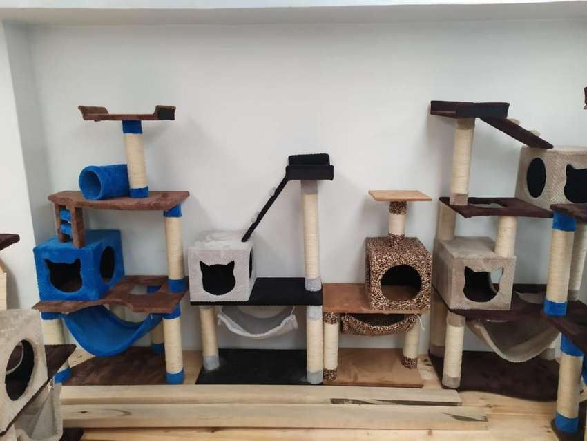 Gimnasio Rascador Para Gato punto fabrica 0