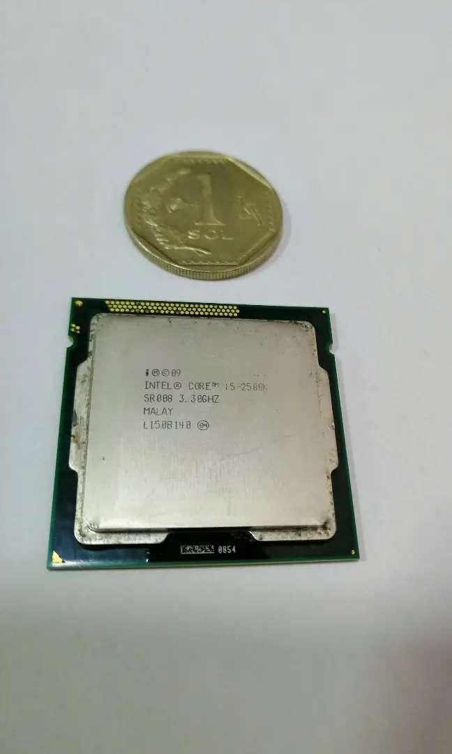 Procesador Intel core i5 2500K 0
