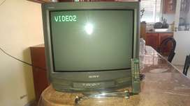 "Televisor 21"" Sony Estéreo Real, Funciona Perfecto"