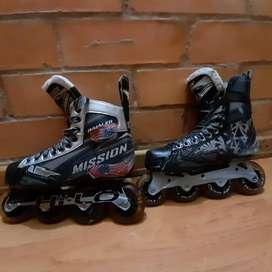 Vendo patines Mission inhaler