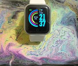 """SMARTWATCH Y68 COMPATIBLE CON IOS Y ANDROID"""