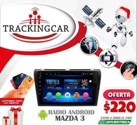 Radio Androide para  Mazda 3. Envío a nivel nacional
