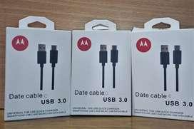 Cable Original Tipo C Motorola Moto G8 G8 Play G8 Power G8 Plus One Macro Hyper