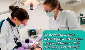 Se necesita asistente dental