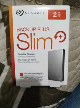 Disco Duro de 2TB Slim - Seagate (Negociable)