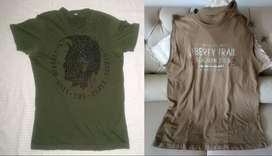 Diesel y Ralph Lauren Camisetas