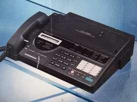 Fax panasonic KX-F150 poco uso , excelente estado