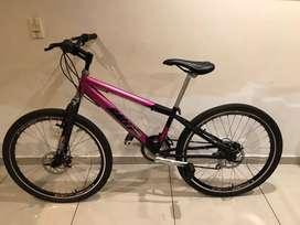 Bicicleta rin 26 con freno de disco, estado 10/10