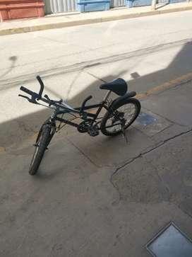 Vendo bicicleta bien conservado todo ok