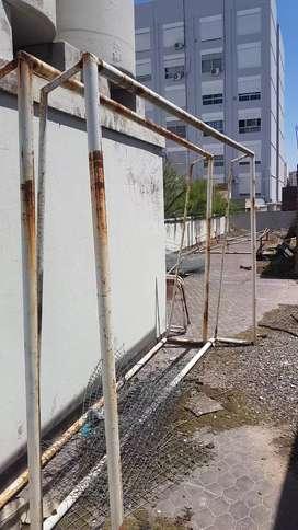 4 ARCOS DE FUTBOL DE HIERRO