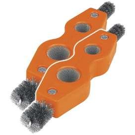 Cepillos Limpiadores De Terminales 4 En 1 X2uni Truper