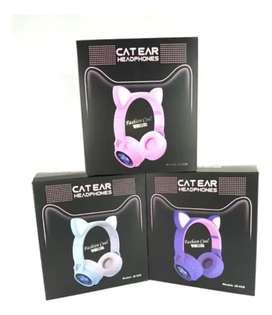 Audífonos Diadema Orejas de gato catear