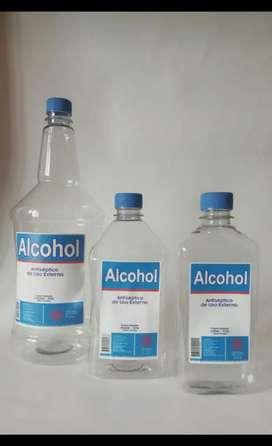 Alcohol antiséptico al 70%