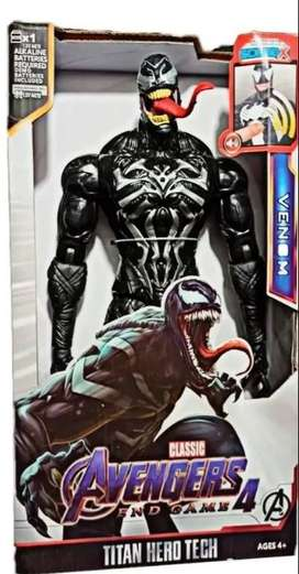 Muñecos Figura Avengers 30cm Articulada Sonido Niño Marvel