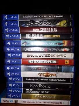 Vendo o cambio juegos PS4