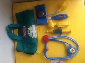 Kit del doctor fisher price