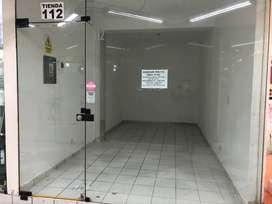 S/ 2,800 Alquiler Tienda Comercial (1er Piso San Miguel-Shopping Center)
