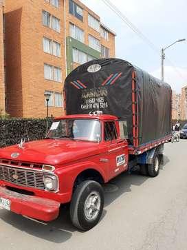 Ford 350 camión VENPERMUTO enfierrado todo al día