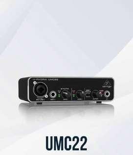 Interfaz de audio NUEVA UMC 22