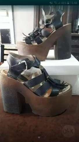Zapatos altos nro 36