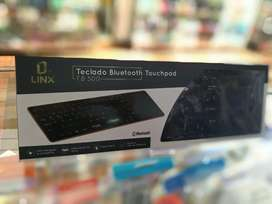 Teclado Bluetooth touchpad