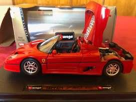 Ferrari F50 1995 de Burago escala 1/50.