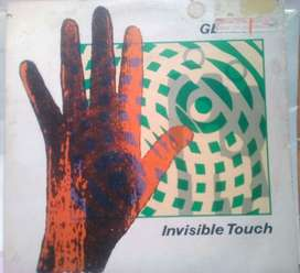 Acetato Long Play Genesis Invisible touch Phil Collins