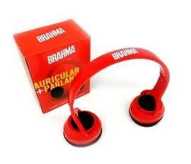 Auriculares + Parlantes Brahma