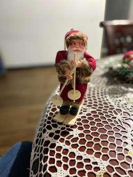 Adorno Navideño Santa Claus 17cm