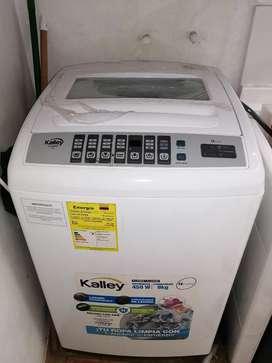 Lavadora casi nueva kalley 19 libras barata