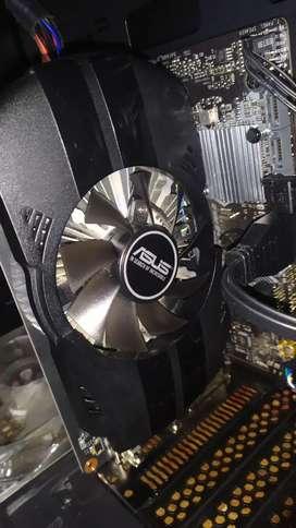 Tarjeta de vídeo- Asus Nvidea GeForce Gtx 1050 ti 4Gb Ddr5