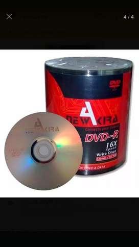 Dvd-r New Akira X100