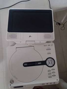 TELEVISOR PROTATIL PARA IDEAL PARA VIAJAR CON CABLE DE ELECTR- CARGAR