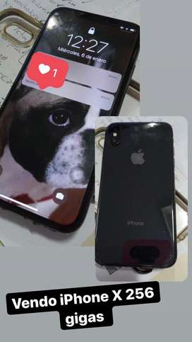 Iphone X de 256 gigas! Ni un detalle! Impecable literalmente!