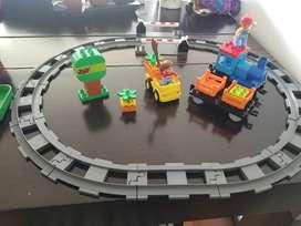 LEGO DUPLO 10810 TRACK SYSTEM