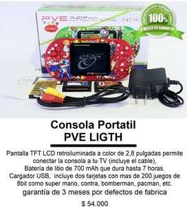 Consola Portatil PVE LIGTH