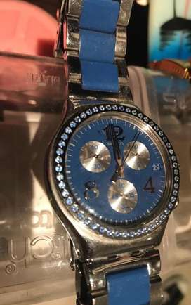 Oportunidad! Reloj Swatch Original Blued