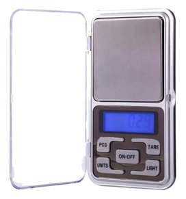 Mini Balanza Portatil Pocket Scale Digital 0.1 A 500 gr