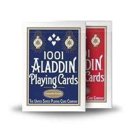 Cartas Aladdin 1001 Baraja Lisa Smooth Finish Acabado Liso.