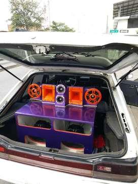 Instalcion de Sonido en Carros.
