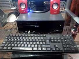 Computador Intel Core 2 Dúo Con 6 Ram Ddr2 Y Windows 10pro