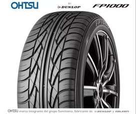 Kit 2 Neumáticos Ohtsu By Dunlop 205 55 R16 Fp1000