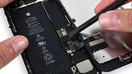 Batería iPhone 7 plus instalada